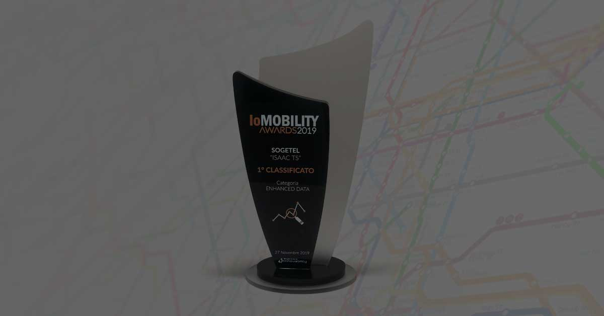 We are the winners of IoMOBILITY AWARDS 2019