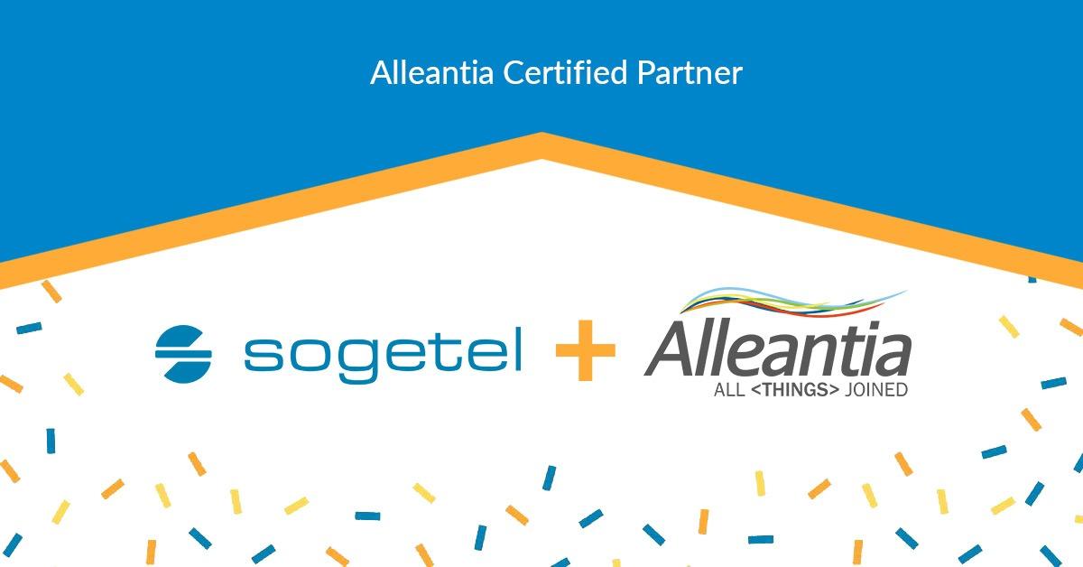 Sogetel is Alleantia Certified Partner
