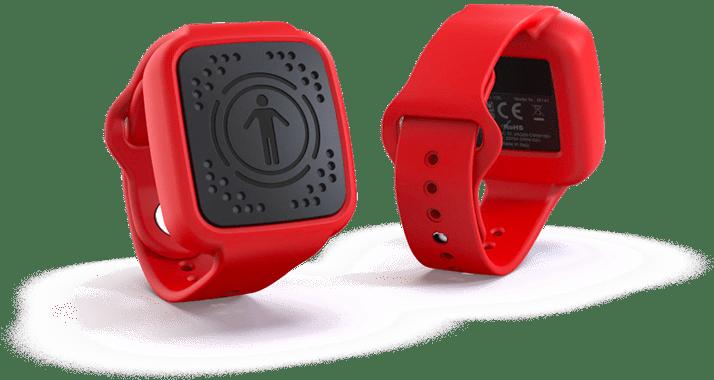 Safe Spacer™ dispositivo indossabile