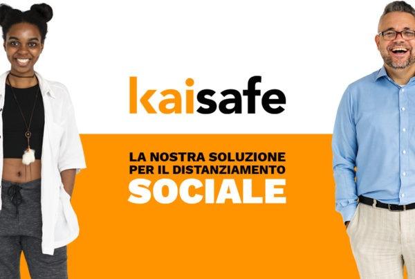 KAISAFE la nostra soluzione per il distanziamento sociale