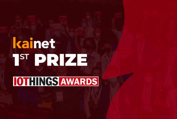 KAINET 1st prize winner at IOTHINGS AWARDS 2021