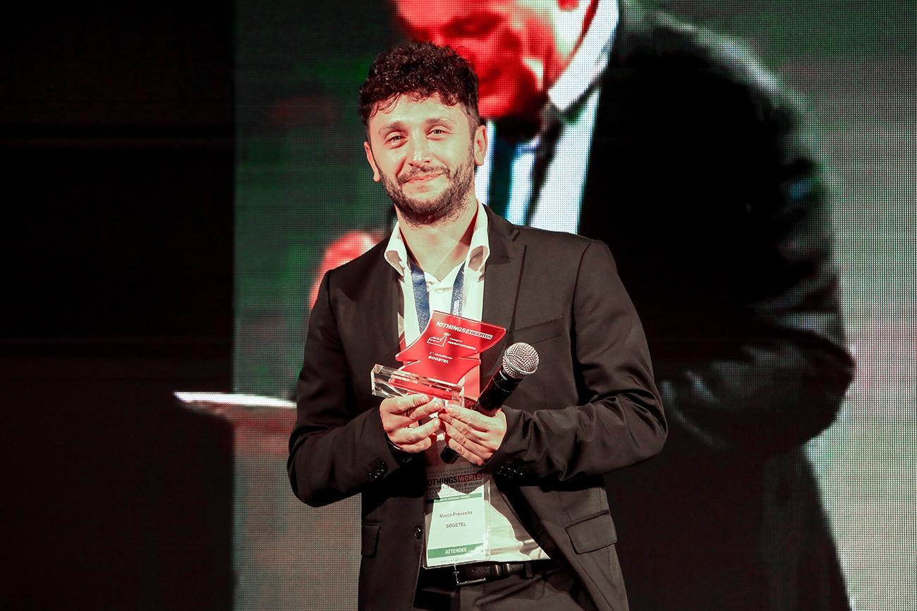 Foto premiazione IoThings Awards 2021